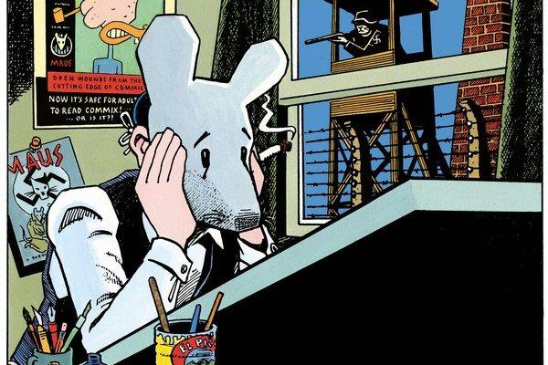 Autor v komikse vystupuje ako jedna z hlavných postáv.