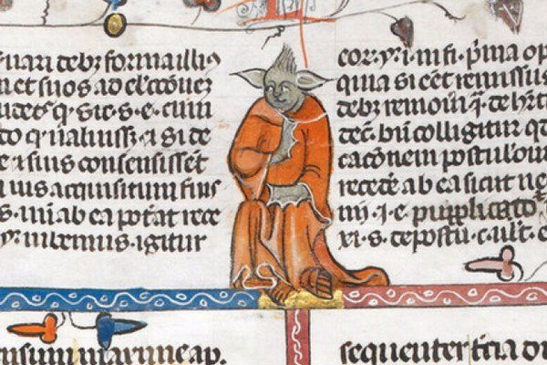 Stredoveký mních alebo Yoda?