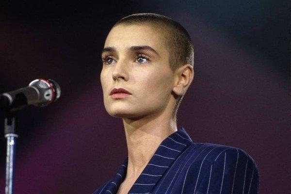 Sinéad O'Connor v čase, keď sa stala slávnou.