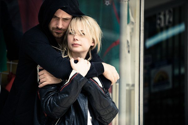Michelle Williams a Ryan Gosling vo filme Blue Valentine. Williams zaň dostala nomináciu na Oscara.