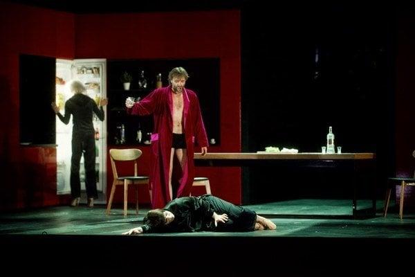 Gun-Brit Barkmin (Salome) a Jacek Laszczkowski (Herodes).