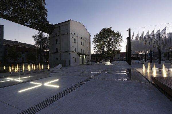 Košické Kasárne Kulturpark získali dve ceny - v kategórii Občianske a priemyselné budovy a v kategórii Exteriér.