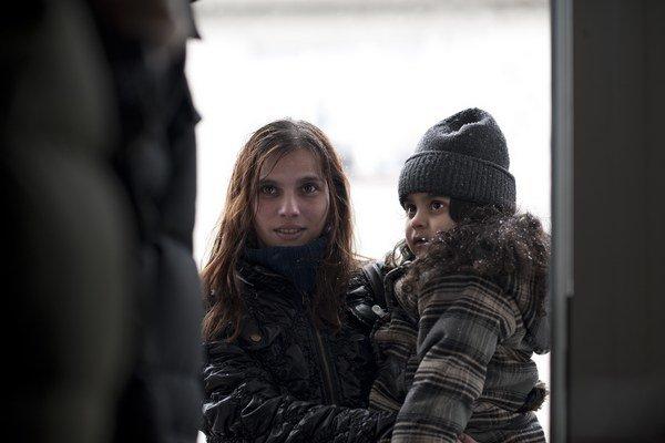 Klaudia Dudová vo filme Cesta ven.