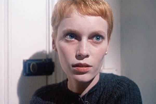 Mia Farrow v slávnom filme.