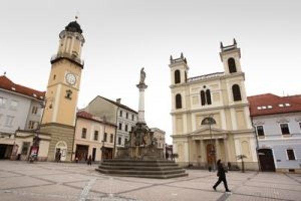 Najvyššie sadzby sú prirodzene v centre mesta.