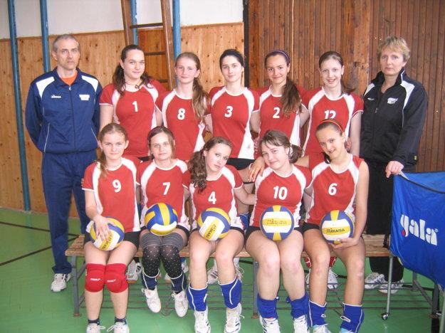 Volejbalové družstvo TJ lokomotíva Čadca r.2009