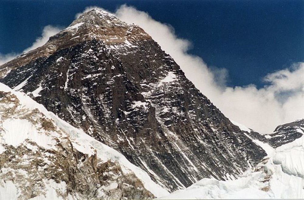 Mount Everest. Pohľad z Kala Patthar (5700 m.n.m)