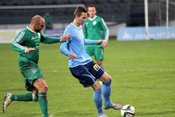 Na hrote útoku nastúpil po návrate z reprezentačnej akcie opäť dorastenec Filip Balaj.