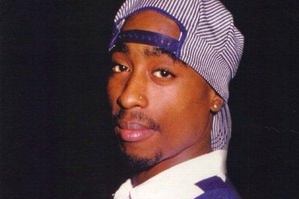 Rapper 2Pac.