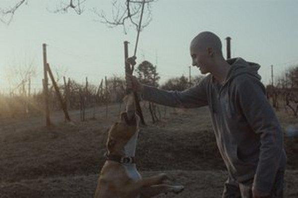 Hlavní hrdinovia filmu Môj pes Killer.
