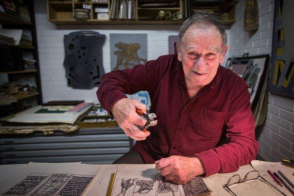 Miroslav Cipár (1935), narodil sa vo Vysokej nad Kysucou, študoval na Vysokej škole pedagogickej a VŠVU. Venuje sa maľbe, grafike, sochárstvu, dizajnu, knižnej ilustrácii, kreslenému filmu a monumentálnej tvorbe. Stál pri zrode bienále Danuvius či Bienále