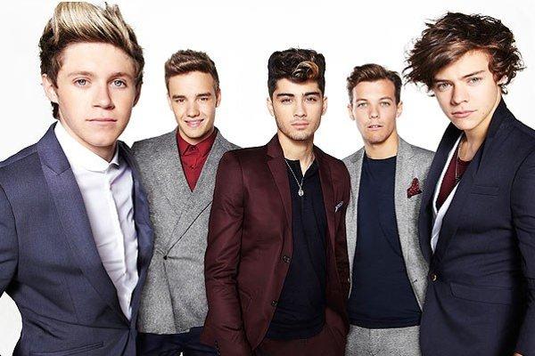Momentálne najslávnejší boyband One Direction.