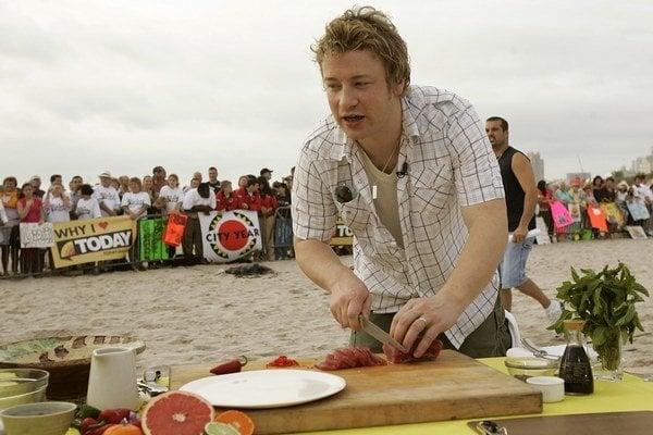 Britský kuchár Jamie Oliver.