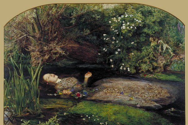 V uliciach Británie bude aj maľba Johna Everetta Millaisa - Ophelia.