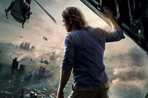 Brad Pitt v hlavnej úlohe filmu Svetová vojna Z.