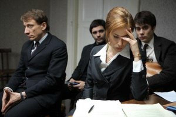 Táňa Pauhofová hrá advokátku Dagmar Burešovú, ktorá hájila česť Jana Palacha vo vopred prehratom procese.