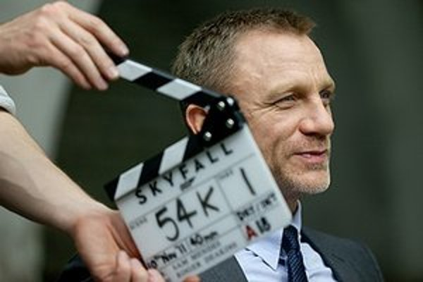 Daniel Craig - opäť ako James Bond.