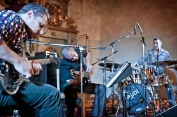 Prvý koncert známej trojice sa konal na záver festivalu Jazznica.