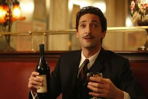 Slávni herci u Woodyho Allena radi zahrajú aj malé postavy: Adrien Brody ako Dalí.