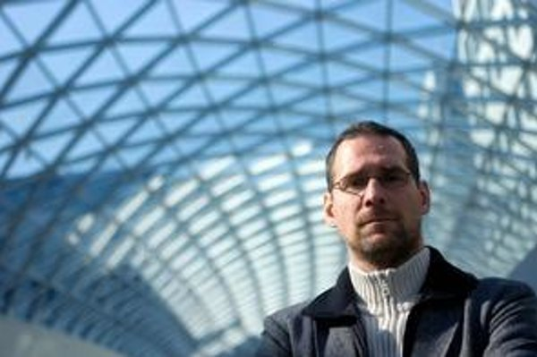 Vojtech Kabáth, výkonný riaditeľ medzinárodného filmového festivalu Bratislava. Festival sa začne 4. novembra.