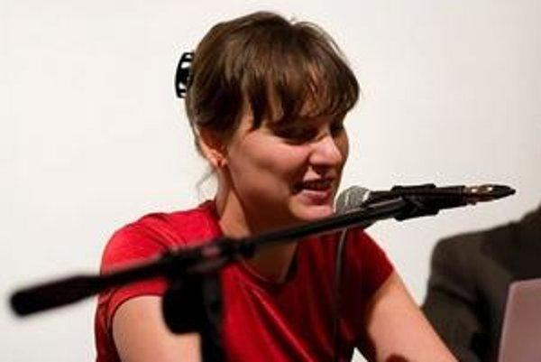 Na podujatí Literatúra v prúde sa zúčastní Kateřina Rudčenková.