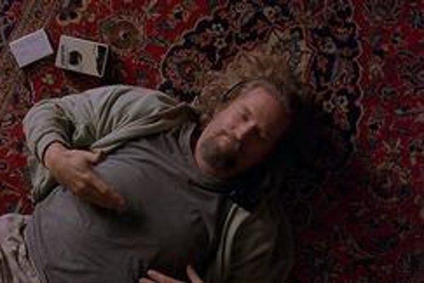 Jeff Bridges si užíva v úlohe Jeffa Lebowského.