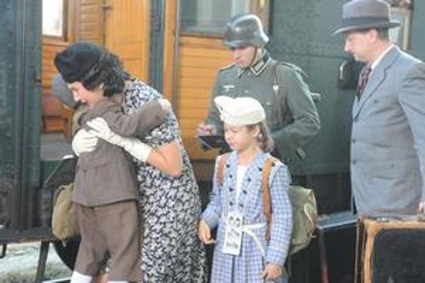 Centrálna  scéna z filmu Nickyho rodina.