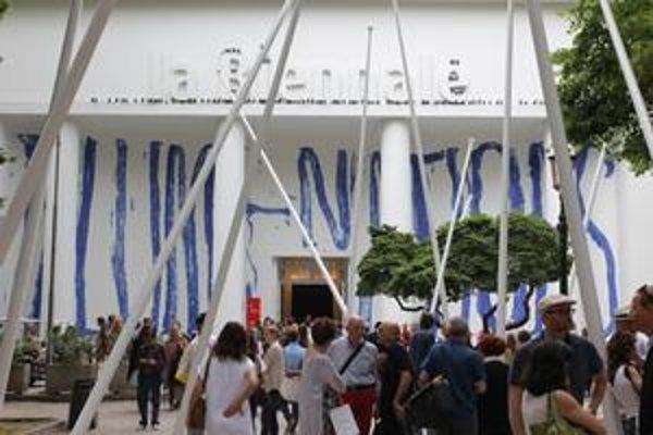 Centrálny pavilón benátskeho bienále.