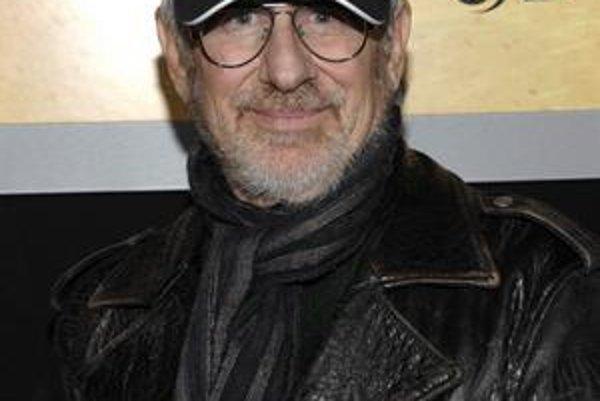 Steven Spielberg na premiére filmu Som číslo 4. V štúdiu DreamWorks je číslom jedna.