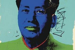 Prestrelený obraz od Andyho Warhola.