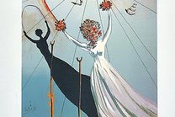Salvador Dali - Alice in Wonderland, 1979