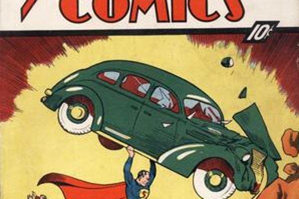 Superman z roku 1938 stojí milión dolárov.