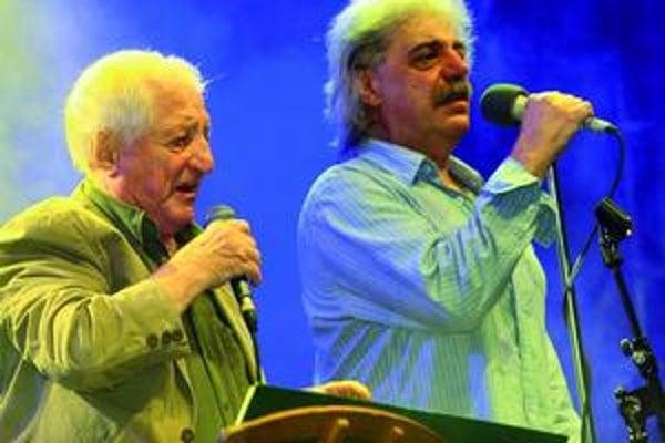 Pavel Bobek s Robertom Křesťanom.