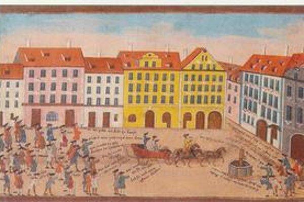 Jena koncom 18. storočia.
