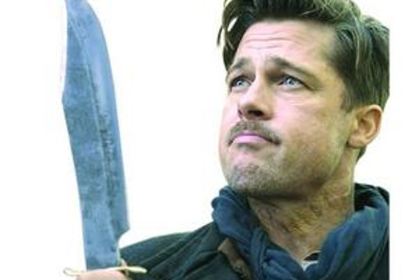 Brad Pitt si zahral šéfa jednotky likvidujúcej nacistov.