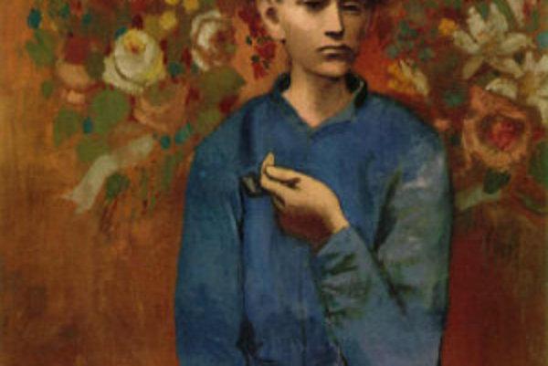 Picassov Chlapec s fajkou.