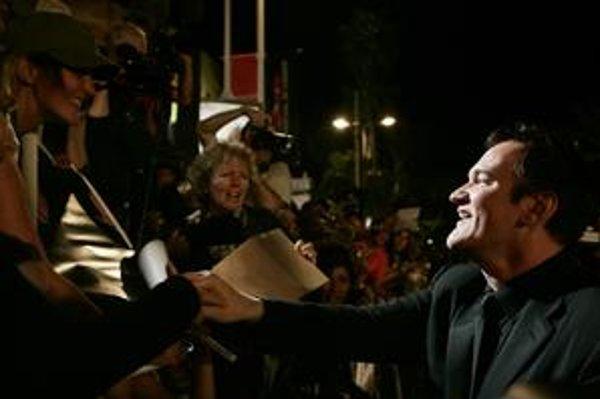 Americký režisér Quentin Tarantino miluje všetko, čo súvisí s filmami, vrátane osobných stretnutí s fanúšikmi.