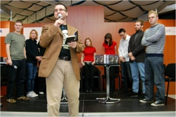 Vyhlásenie výsledkov Ceny Fantázie v roku 2008.