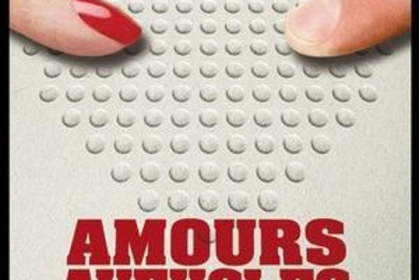Francúzsky plagát k filmu Slepé lásky.