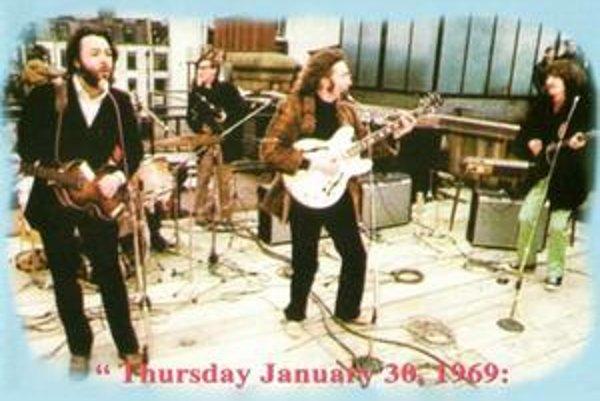 Posledný koncert skupiny The Beatles sa odohral na streche.