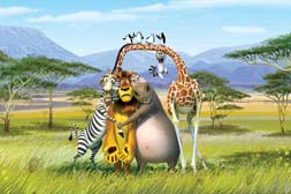 Hlavní hrdinovia Madagascaru 2 dokážu zabaviť detských divákov a nudiť sa nebudú ani rodičia.