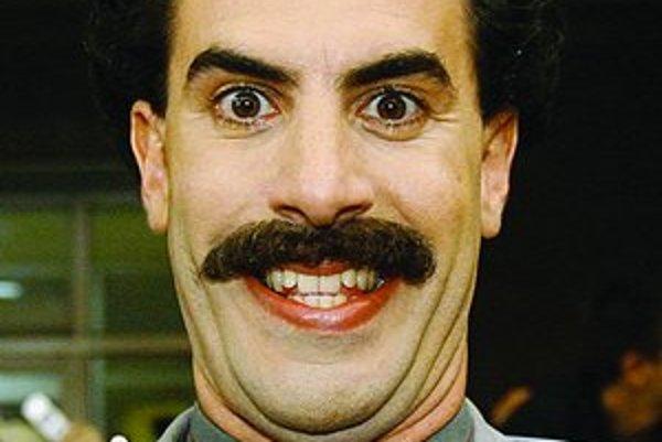 Cohen ako Borat.