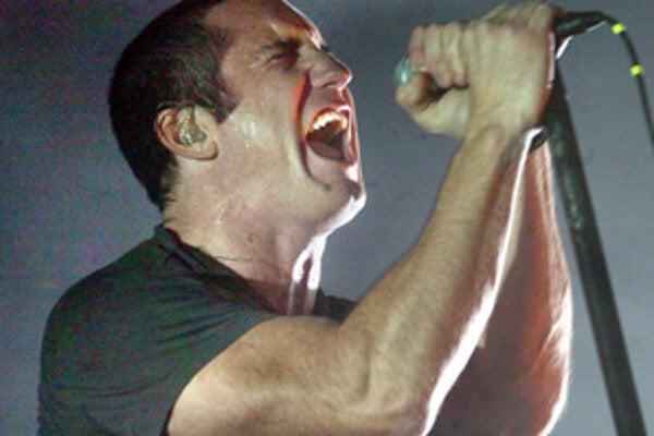 Trent Reznor z kapely den Nine Inch Nails.