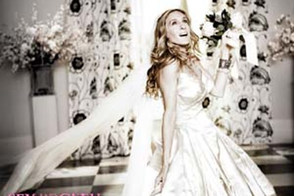 Ošiaľ okolo svadby Carrie s pánom Božským vyzeral veľkolepo. Dokonca aj Vivienne Westwood obetovala svoj model. Ale kde je ženích?