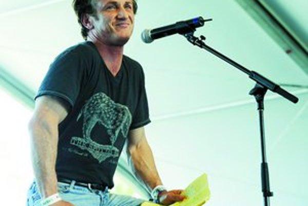 Sean Penn má teraz vplyv na to, kto vyhrá v Cannes.