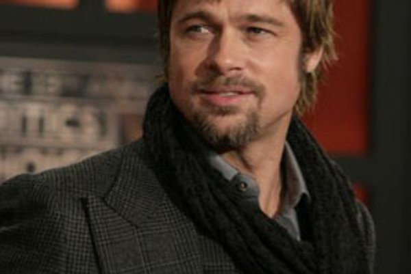 Herec Brad Pitt.