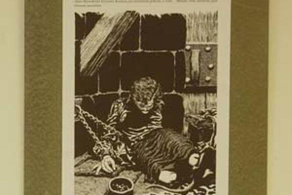 Z komiksu Neporazená o Milade Horákovej.