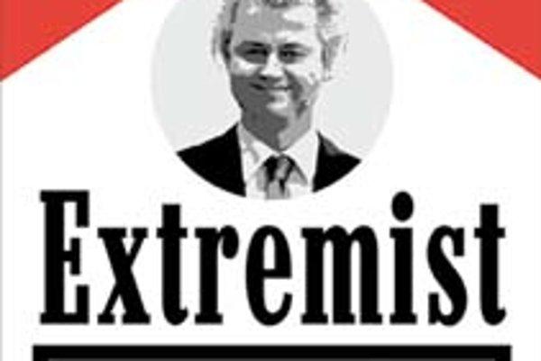 V januári sa proti Wildersovmu filmu protestovalo v Amsterdame aj takto. Na obrázku je jeho fotka a slogan Geert Wilders extrémista vážne poškodzuje vás a našu spoločnosť.