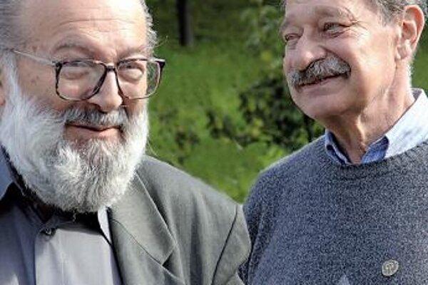 Kornel Földvári a Tomáš Janovic – nerozluční priatelia, ktorí sú na Kremnických gagoch každý rok spolu.