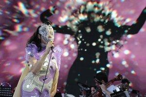 Koncert Björk.